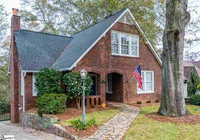 Greenville Single Family Home For Sale: 407 Cary