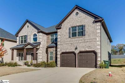 Greer Single Family Home For Sale: 407 Sunnybrook
