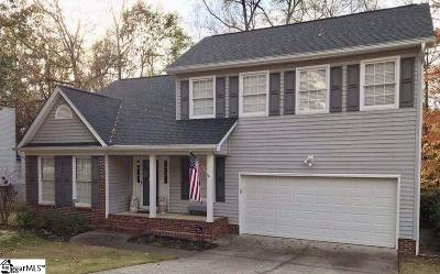 Mauldin Single Family Home Contingency Contract: 400 Planters Row