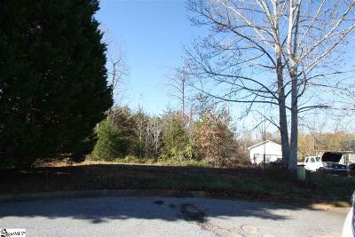 Travelers Rest Residential Lots & Land Contingency Contract: 226 Crown