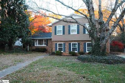 Greenville County Single Family Home For Sale: 19 Chateau