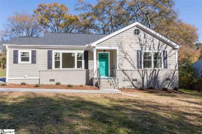 Greenville Single Family Home For Sale: 15 E Circle