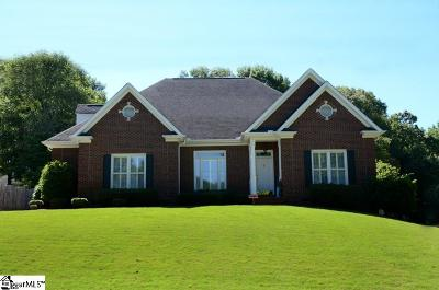 Greenville Single Family Home For Sale: 820 Knollwood