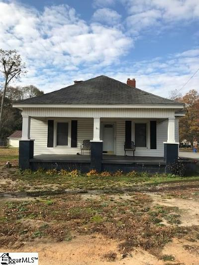 Simpsonville Single Family Home Contingency Contract: 313 N Maple