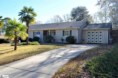 Greer Single Family Home Contingency Contract: 314 E Celestial