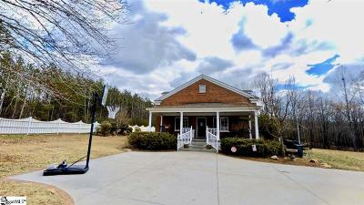 Travelers Rest Single Family Home For Sale: 1231 Chinquapin