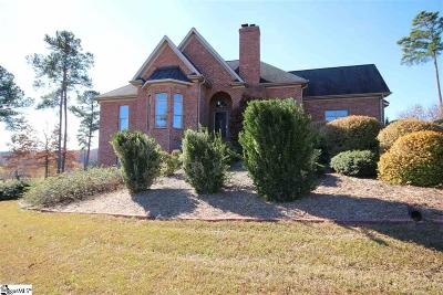 Greer Single Family Home For Sale: 4480 Hawkins