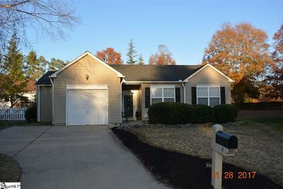 Mauldin Single Family Home Contingency Contract: 9 Knollvine