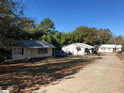 Greer Multi Family Home For Sale: 201 Roe