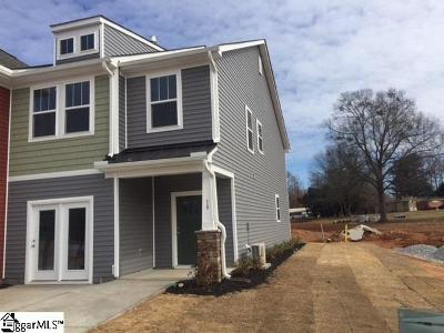 Greenville County Condo/Townhouse For Sale: 10 Timber Oak