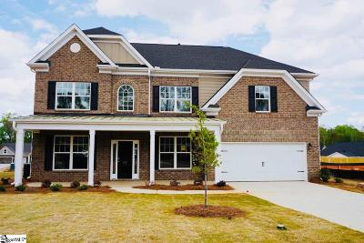 Boiling Springs Single Family Home For Sale: 777 Ashmont #Homesite