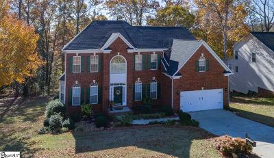 Simpsonville Single Family Home For Sale: 5 Noble Oaks