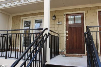 Clemson Condo/Townhouse For Sale: 833 Old Greenville #Unit 223