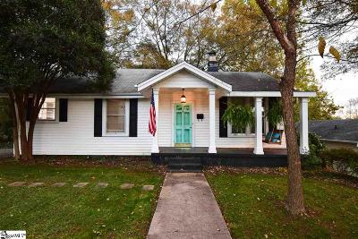 Augusta Road Single Family Home For Sale: 126 Brookview