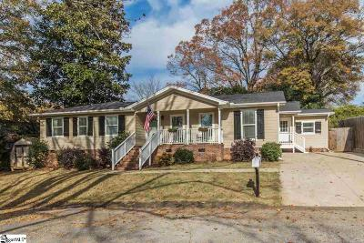 Greenville Single Family Home For Sale: 605 Meyers