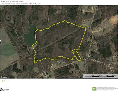 Taylors Residential Lots & Land For Sale: S. Barton
