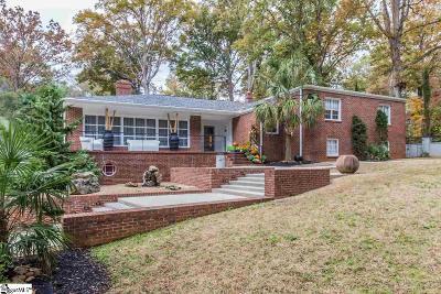 Greenville Single Family Home For Sale: 108 Fernwood
