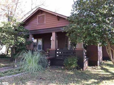 Greenville Single Family Home For Sale: 111 Smythe