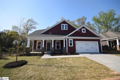 Simpsonville Single Family Home For Sale: 107 Summer Oak