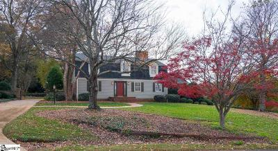 Greer Single Family Home Contingency Contract: 257 Sheffield
