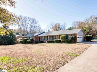 Spartanburg Single Family Home For Sale: 1228 Farragut
