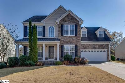 Simpsonville Single Family Home For Sale: 5 Ridgeleigh