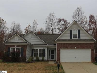 Simpsonville Single Family Home Contingency Contract: 698 Timber Walk