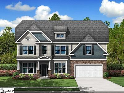 Simpsonville Single Family Home For Sale: 5 Lakeway #Homesite