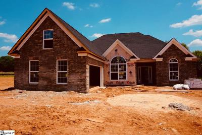 Simpsonville Single Family Home For Sale: 6 Lakeway #Homesite