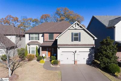 Greer Single Family Home For Sale: 416 Jameswood