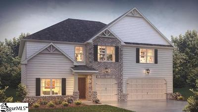 Simpsonville Single Family Home For Sale: 112 Ashcroft #Lot 34