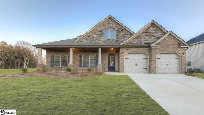 Simpsonville Single Family Home For Sale: 116 Ashcroft #Lot 33