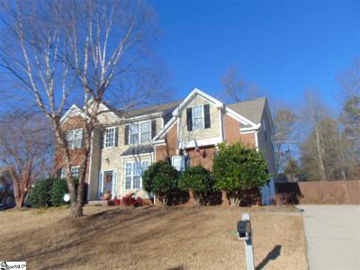 Simpsonville Single Family Home For Sale: 704 Kingsmoor