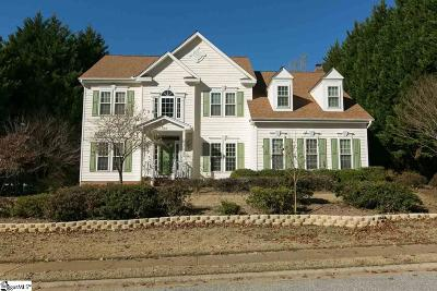 Simpsonville Single Family Home For Sale: 232 Roper Meadow
