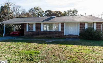 Spartanburg Single Family Home For Sale: 559 Glenwood