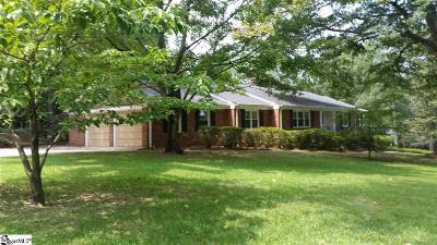 Greenville Single Family Home For Sale: 205 Sweetbriar
