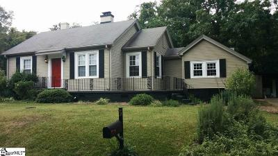 Greenville SC Single Family Home Contingency Contract: $289,000