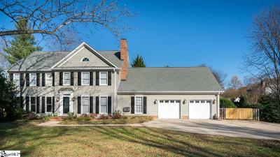 Simpsonville Single Family Home For Sale: 105 Maple Wind