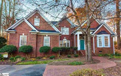 Simpsonville Single Family Home For Sale: 10 Venetian