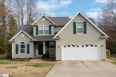 Greer Single Family Home For Sale: 501 Nichole