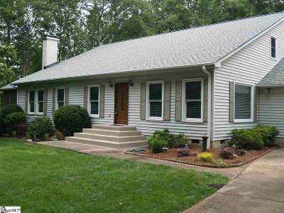 Greenville County Single Family Home For Sale: 313 Cardinal