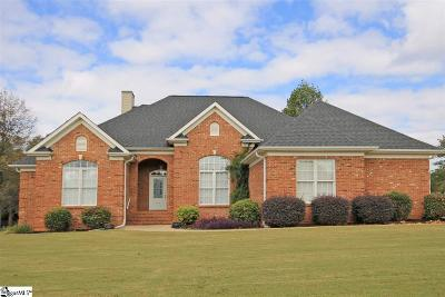 Greer Single Family Home For Sale: 110 William Owens