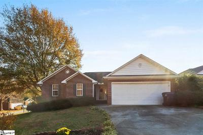 Anderson Single Family Home Contingency Contract: 12 Woodbridge