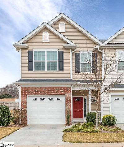 Simpsonville Condo/Townhouse For Sale: 187 Shady Grove