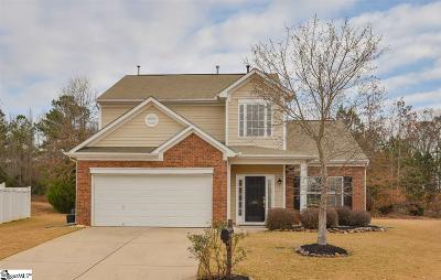Simpsonville Single Family Home For Sale: 203 Plum Orchard