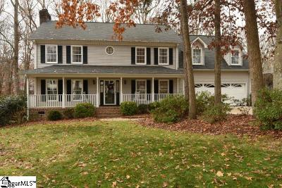 Simpsonville Single Family Home Contingency Contract: 900 Willow Branch