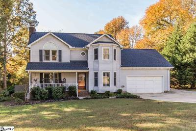 Simpsonville Single Family Home For Sale: 3 Foxworth