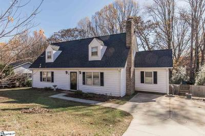 Greenville County Single Family Home Contingency Contract: 116 Canebrake