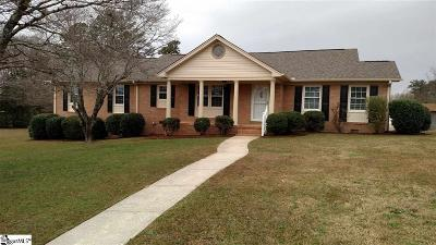 Taylors Single Family Home For Sale: 13 Turrentine