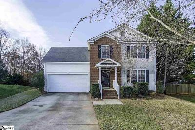 Greer Single Family Home For Sale: 10 Haskell